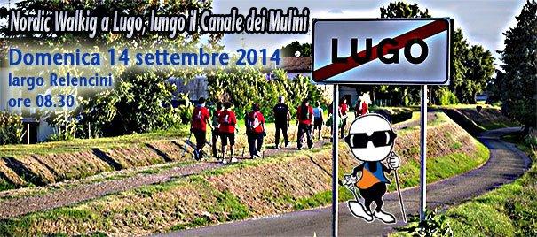 """Inaugurazione percorso """"Nordic Walking lungo il Canale dei Mulini"""" di Lugo"""