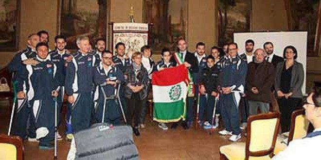 Il Primo Tricolore alla Nazionale Amputati. Da giovedi la squadra al Mondiale in Messico