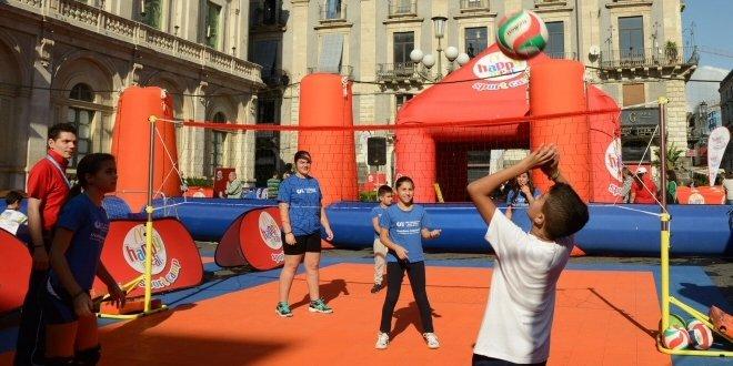 McDonald's porta lo sport in piazza a Catania