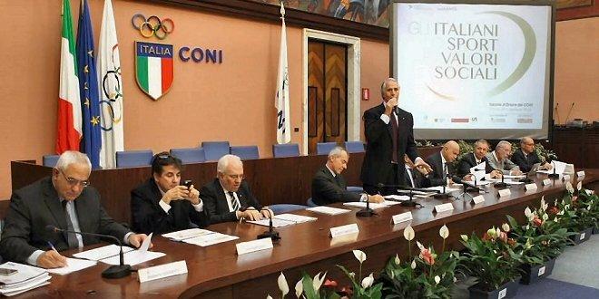 Gli italiani, lo sport e i valori sociali: presentata al Coni la ricerca
