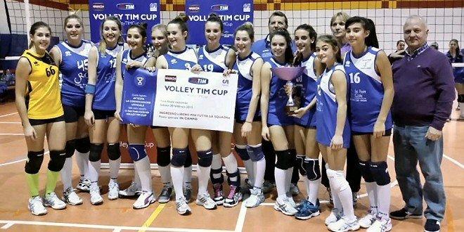 L'oratorio Capriate San Gervaso vince la Volley Tim Cup a Bergamo