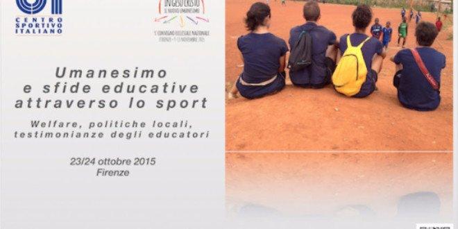 Umanesimo e sfide educative attraverso lo sport
