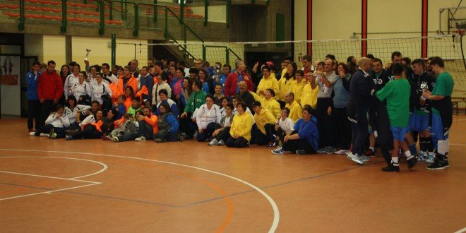 """11° edizione del """"Torneo Oltre la Siepe"""" 2° Meeting Nazionale  di Pallavolo CSI – FISDIR di pallavolo per disabili intellettivo relazionali 24-25 ottobre 2015"""