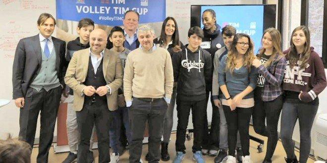 La Volley TIM Cup a Roma per il benessere digitale