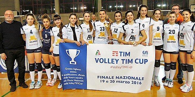 Volley TIM Cup: le parrocchie vanno in finale