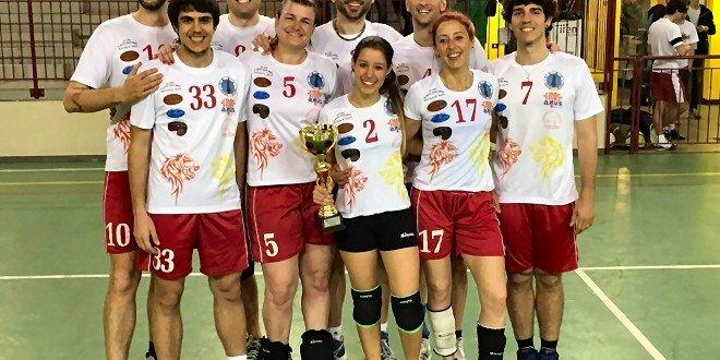 Portuali trionfa a Piacenza nel volley misto
